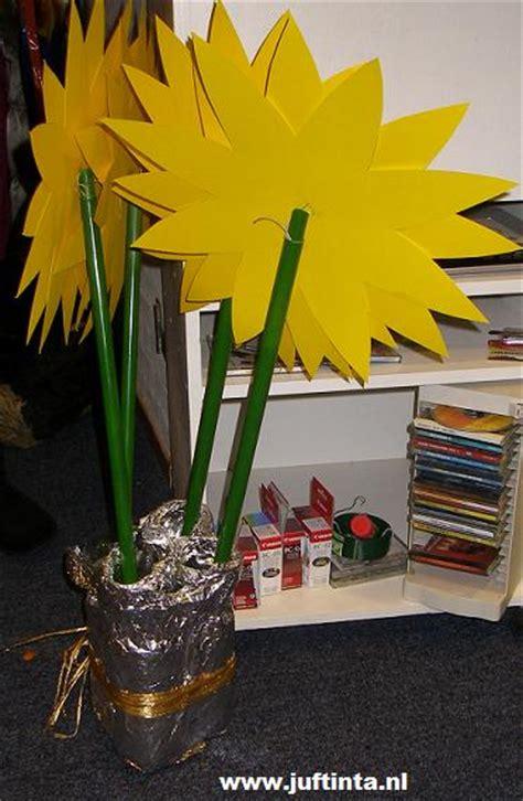 bloem maken als surprise bloemen knutselen