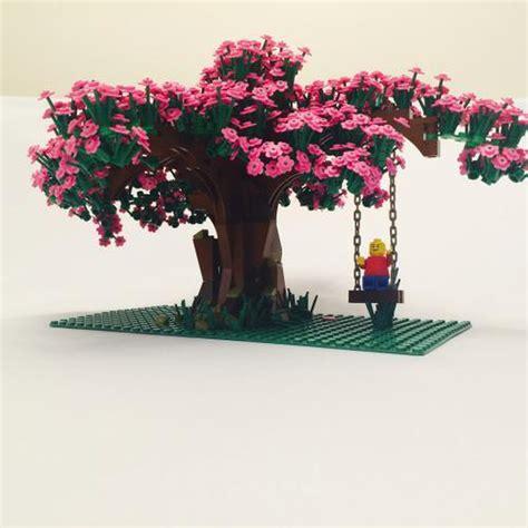 tree lego lego moc 2358 cherry blossom tree creator 2014
