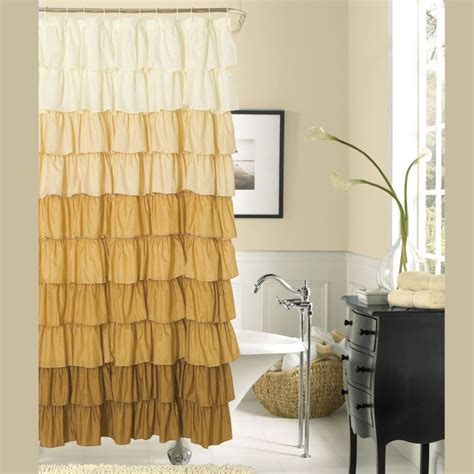 bathroom shower curtain ideas 15 elegant bathroom shower curtain ideas home and