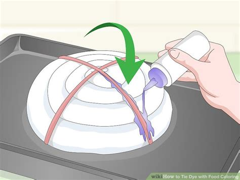 can you tie dye with food coloring how to tie dye with food coloring with pictures wikihow