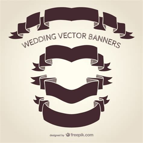 Wedding Banner Vector by Wedding Banners Vector Free