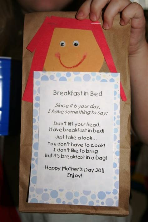 Mothers Day Breakfast In Bed Bag Mothers Day Pinterest