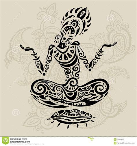xs tattoo prices meditation lotus pose tattoo style stock vector image