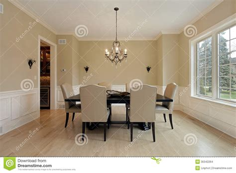Dining Room Sconces Dining Room With Candle Sconces Stock Images Image 35342264