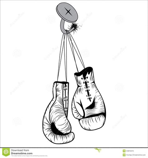 boxing gloves stock image image of clipart extreme