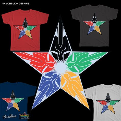 design home star score score voltron force star by samoht lion on threadless