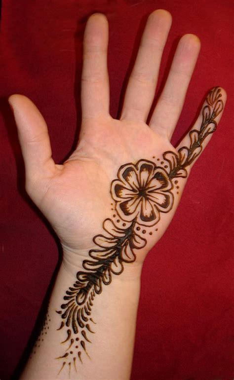 very simple tattoo designs 30 simple easy best mehndi patterns for
