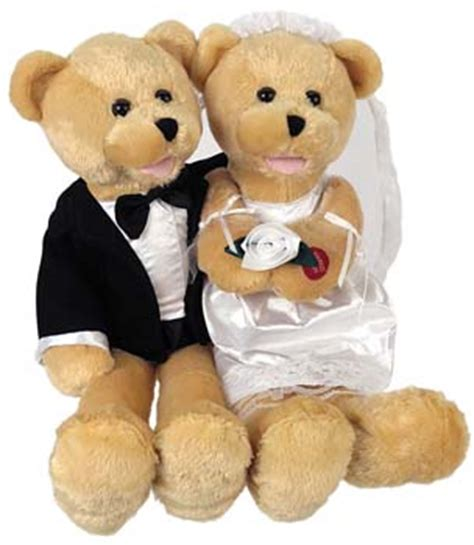 wedding bears wedding singing and groom bears singing