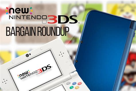 3ds console cheap aussie bargain roundup find the new nintendo 3ds and new