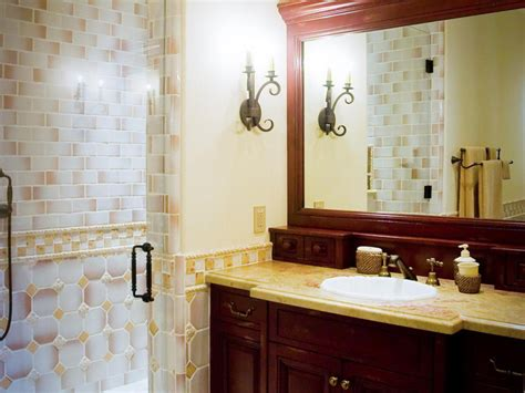 small bathroom countertop ideas granite bathroom countertop options hgtv