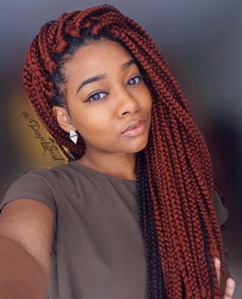 Big Braids Hairstyle by 40 Best Big Box Braids Hairstyles Jumbo Box Braids