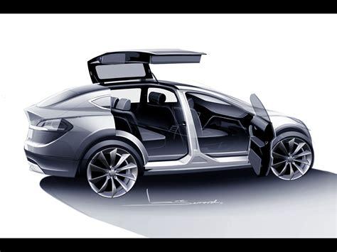 Tesla Model X Sketches 2012 tesla model x sketch 3 1920x1440 wallpaper