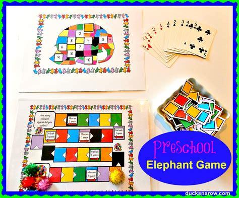 Elmer The Patchwork Elephant Lesson Plans - e is for elephant preschool ducks n a row