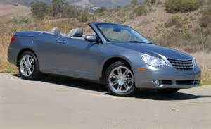Chrysler Sebring Cabriolet Chrysler Sebring Convertible Reviews Chrysler Sebring