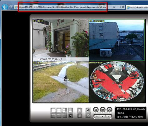 web live view login to web live view without entering username and