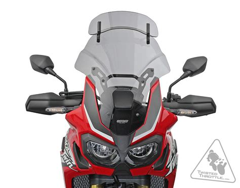mra motorcycle windshield for honda africa crf1000l 16 17 vario touring screen