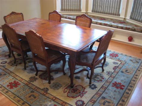 Dining Room Area Rugs by Traditional Dining Room With Tibetan Area Rug