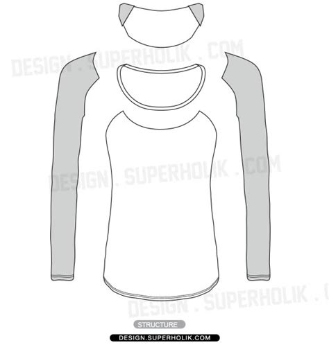 sleeve shirt template hellovector home of fashion templates vector