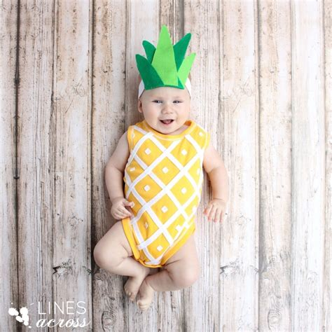 Handmade Toddler Costumes - handmade pineapple baby costume and 88 diy costumes