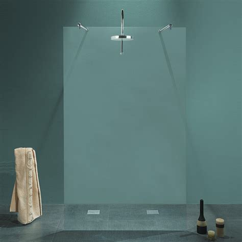 pareti doccia in cristallo parete doccia centrale milena da 140 cm in cristallo 8 mm