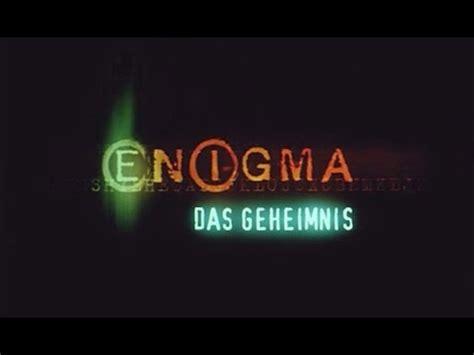 enigma film trailer deutsch enigma das geheimnis trailer deutsch german youtube
