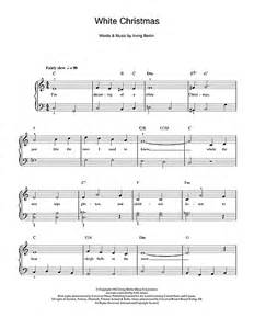 White christmas piano sheet music download white christmas quot from