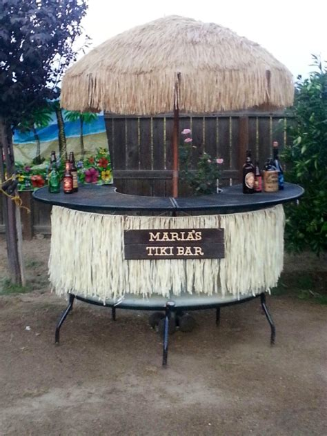 Diy Tiki Bar For Your Backyard Diy Crazy Pinterest Backyard Tiki Bar Ideas