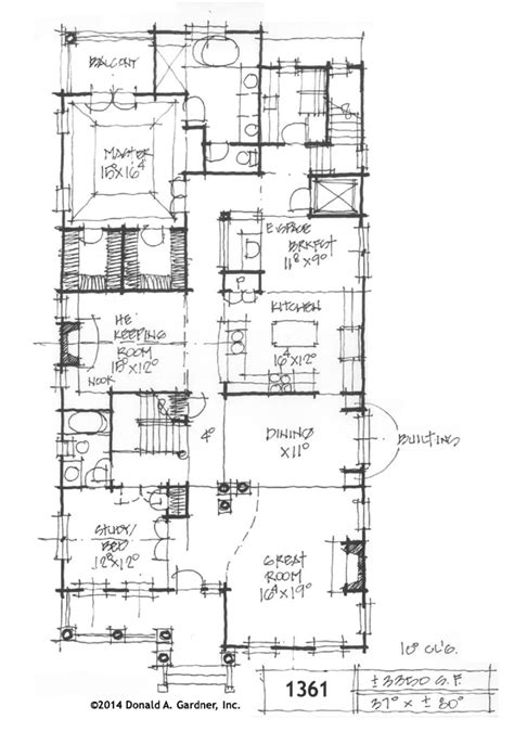charleston style house plan on the drawing board 1361
