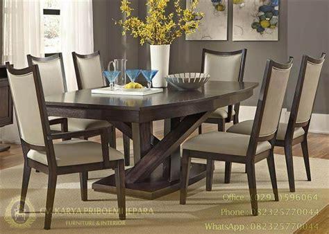Meja Makan Jati Kursi Enam meja makan jati informasi harga kursi tamu dan meja makan jati