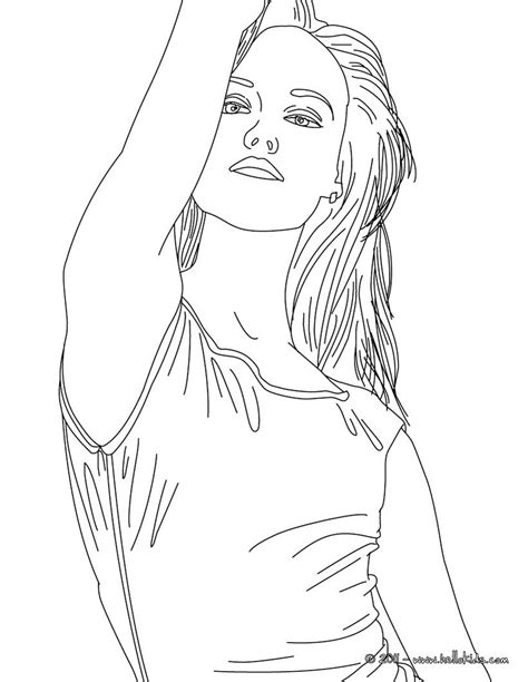 coloring page person vanessa paradis french singer coloring pages hellokids com