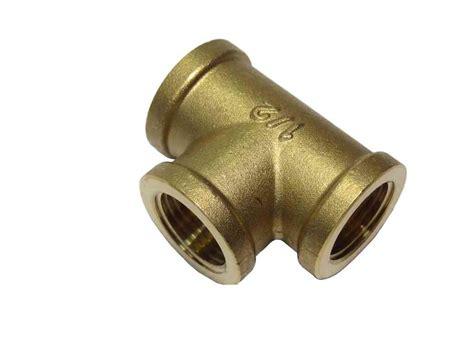 bsp brass equal tee stevenson plumbing electrical