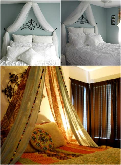 homemade canopy bed sleep in absolute luxury with these 23 gorgeous diy bed
