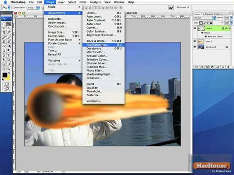 tutorial photoshop mac adobe photoshop very simple tutorial meteor over the