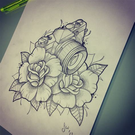 tattoo rose sketch tattoos and designs page 237