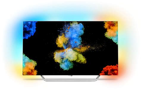 Uhd Decke by Ultraflacher 4k Oled Fernseher Powered By Android