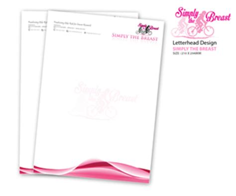 Cancer Research Letterhead 10 Bold Playful Letterhead Designs For A Business In Australia