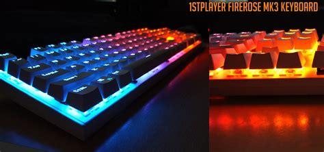 Keyboard 1stplayer Gaming Mechanical Keyboard Firerose Mk3 Black review 1stplayer firerose mk3 mechanical keyboard computer gaming computer gaming