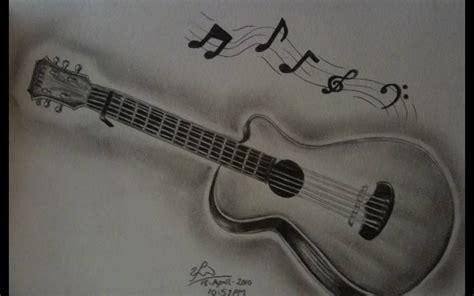 easy guitar book sketch guitar pencil drawing