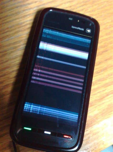 Layar Lcd Hp Nokia E63 nokia 5800 layar bergaris mamaus s