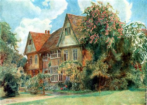 english country cottages frontispiece cranbrook kent