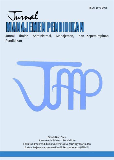 Manajemen Penfidikan jurnal manajemen pendidikan