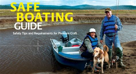 boat safety transport canada office of boating safety transport canada
