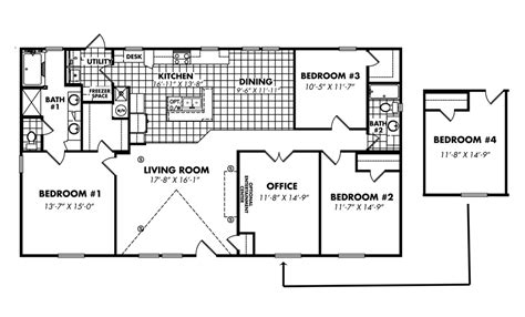 legacy mobile home floor plans