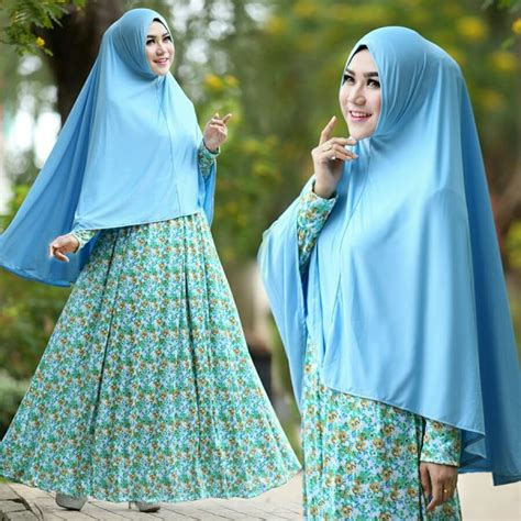 Jual Gamis Syari Cantik Radiah Dusty Trendymodisterbaru gamis cantik murah b105 afifah syar i model baju muslim