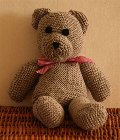 teddy knitting patterns free knitted teddy by claireabellemakes project