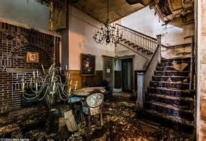 Founds Funeral Home by Photographer Bullet Captures Eerie Images Of An Abandoned