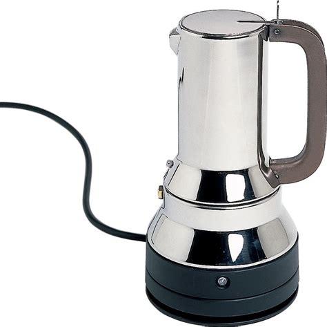 espressomaschine alessi alessi elektrische espressomaschine kaufen