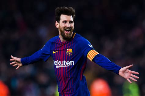 Leo Messi Leo Messi Is Barcelona Score At The To