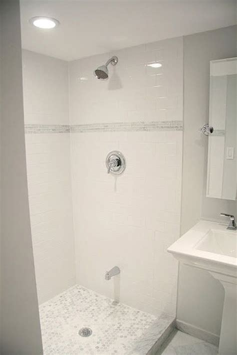 Bathroom Tile Ideas White 38 White Shower Tile Ideas And Pictures