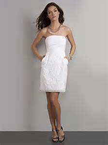 white bridal shower dresses